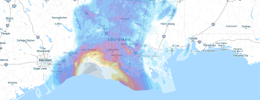 Hurricane Delta Image