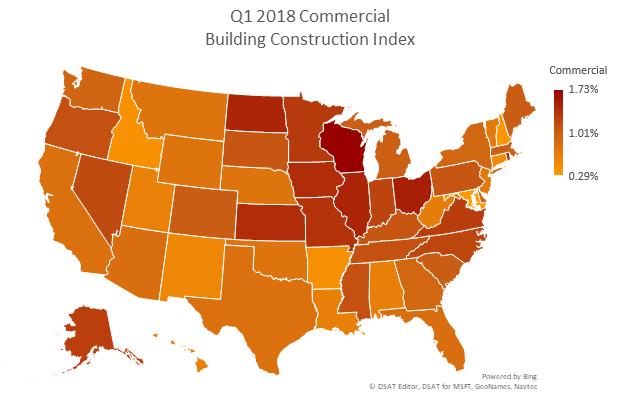 Q1 2018 Commercial Construction Index